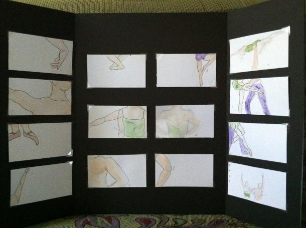 Storyboard Art Judi Huck