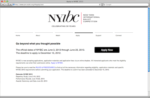 Judi Huck apply to NYIBC